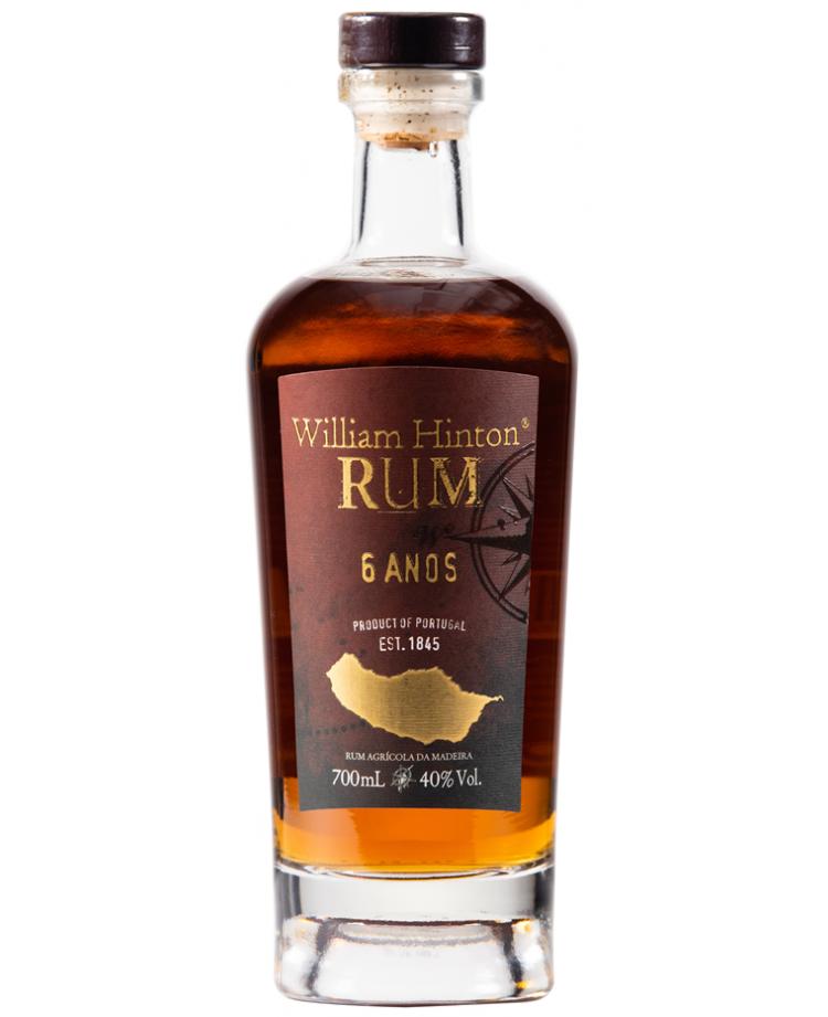 William Hinton Rum Madeira 6 Years 70cl